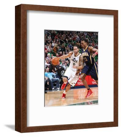 Indiana Pacers v Utah Jazz: Deron Williams and Brandon Rush