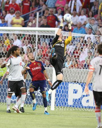 Jun 27, 2009, Toronto FC vs Real Salt Lake - Stefan Frei by Melissa Majchrzak