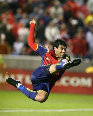 Oct 14, 2009, New York Red Bulls vs Real Salt Lake - Javier Morales by Melissa Majchrzak