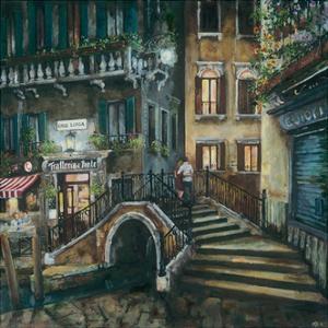 Trattoria Al Ponte, Venice by Melissa Sturgeon