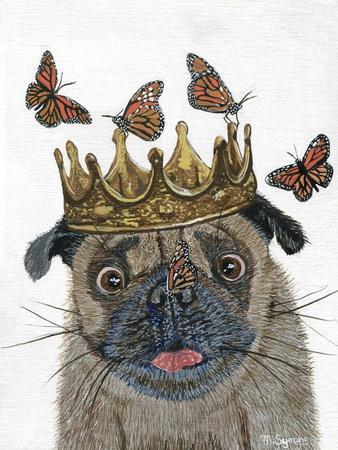 A Crowned Pug