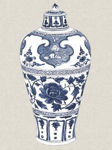 Antique Chinese Vase I by Melissa Wang