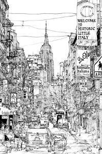 B&W City Scene II by Melissa Wang
