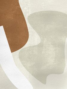 Beige Stucture II by Melissa Wang