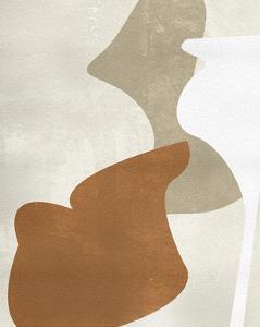 Beige Stucture III by Melissa Wang