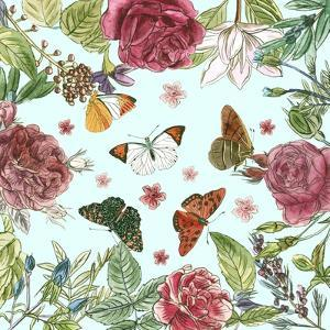 Circular Butterfly I by Melissa Wang