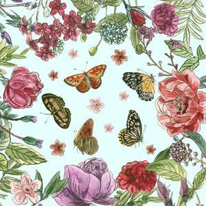 Circular Butterfly II by Melissa Wang