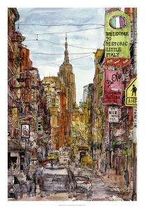 City Scene II by Melissa Wang