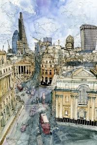 City Scene III by Melissa Wang