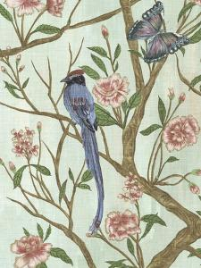 Delicate Chinoiserie I by Melissa Wang