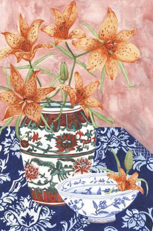 Elegant Arrangement III by Melissa Wang