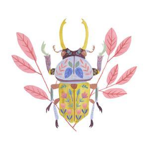 Floral Beetles II by Melissa Wang