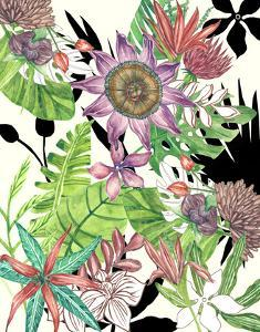Floral Paradise I by Melissa Wang