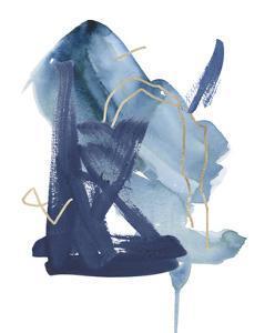 Indigo Collide II by Melissa Wang