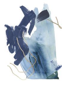 Indigo Collide III by Melissa Wang
