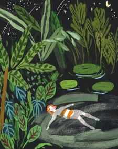 Lost in the Garden III by Melissa Wang