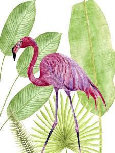 Tropical Flamingo I by Melissa Wang