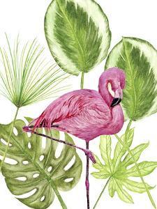 Tropical Flamingo II by Melissa Wang
