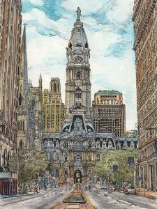US Cityscape-Philadelphia by Melissa Wang