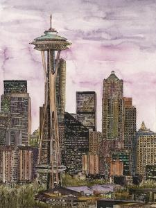 US Cityscape-Seattle by Melissa Wang