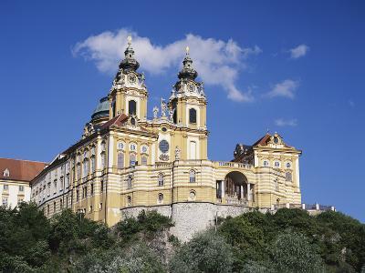Melk Abbey, Austria-Walter Bibikow-Photographic Print