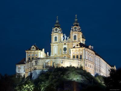 Melk Abbey, Melk, Wachau, Lower Austria, Austria-Doug Pearson-Photographic Print