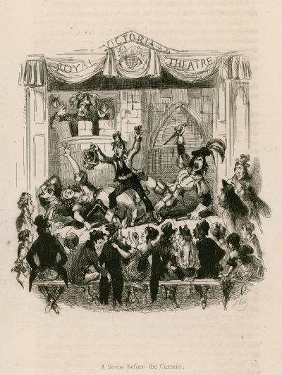 Melodrama at the Royal Victoria Theatre--Giclee Print