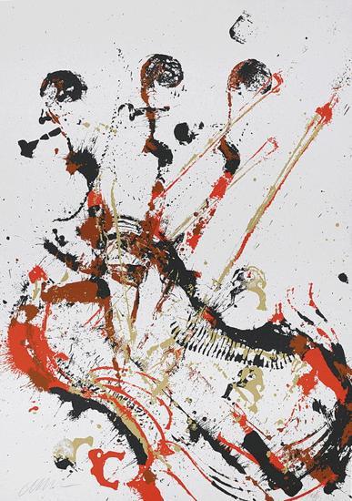Melody for strings I-Fernandez Arman-Limited Edition