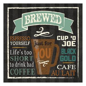 Brew Chalk 2 by Melody Hogan