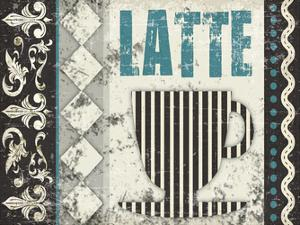 Latte Sipping 1 by Melody Hogan