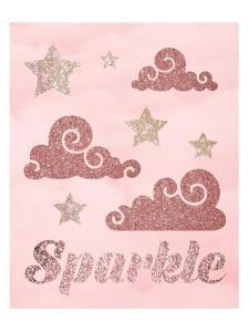 Rose Glitter 4 by Melody Hogan