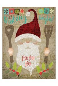 Santas Kitchen 4 by Melody Hogan