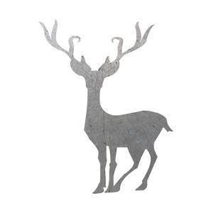 Silver Deer 4 by Melody Hogan