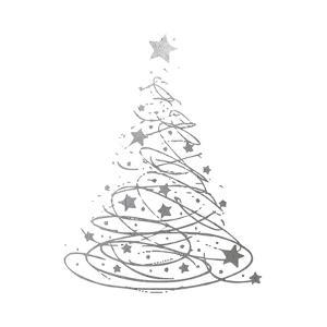 Silver Trees 4 by Melody Hogan