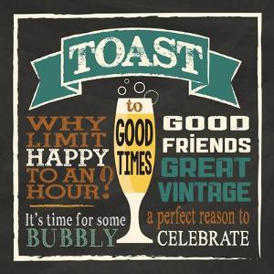 Toast Chalk 1 by Melody Hogan