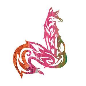 Tribal Fox 2 by Melody Hogan