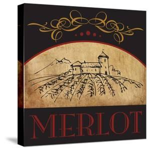 Vinyard Wine 1 by Melody Hogan