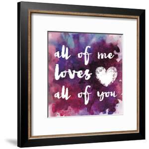 Watercolor Love 01 by Melody Hogan