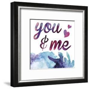 Watercolor Love 04 by Melody Hogan