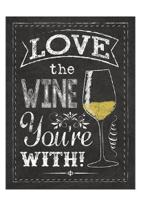 Wine Glass by Melody Hogan