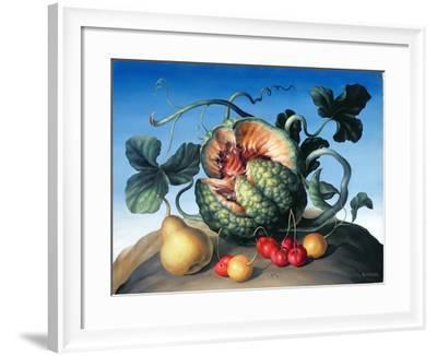 Melon on a Mountain-Amelia Kleiser-Framed Giclee Print
