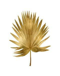 Gold Palm IV by Melonie Miller