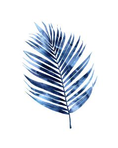 Indigo Palm I by Melonie Miller
