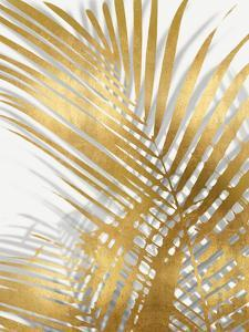 Palm Shadows Gold I by Melonie Miller