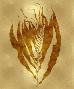 Sea Life - Gold I by Melonie Miller