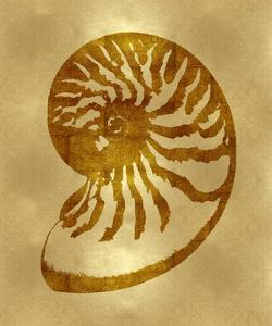 Sea Life - Gold III by Melonie Miller