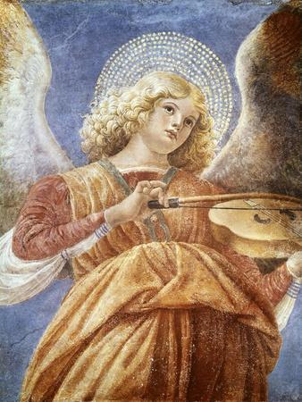 Music-Making Angel with Violin