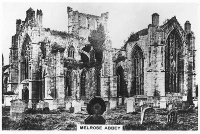 Melrose Abbey, Scotland, 1936--Giclee Print