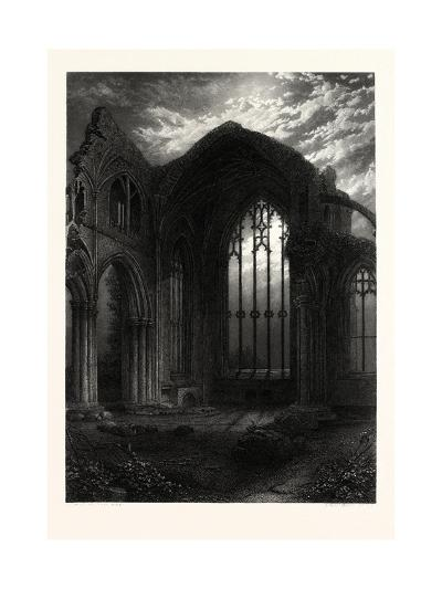 Melrose Abbey, UK--Giclee Print