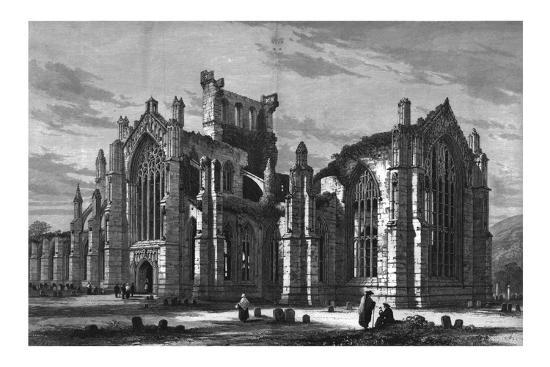 Melrose Abbey-Unknown-Giclee Print